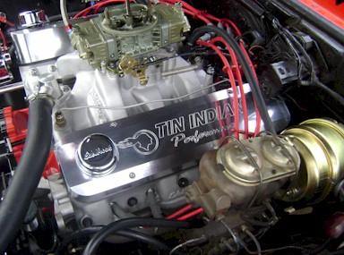 Tin Indian Performance Pontiac Valve Covers