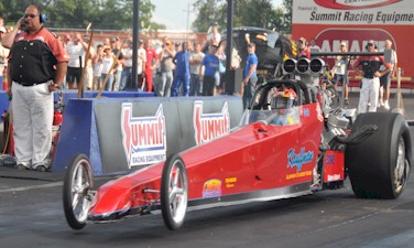 Jeff Kauffman 6.62 @ 209 with a Tin Indian Performance Viton Rear Main Seal!