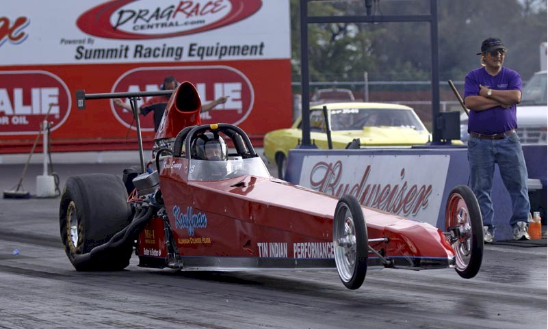 Kevin Swaney's Tin Indian Performance Rear Engine Dragster