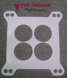 Holley 4150 4 hole teflon carb gaskets - re-usable!!!