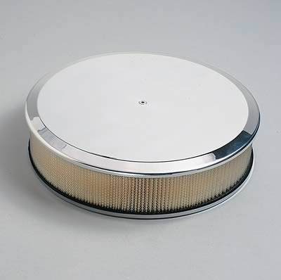 Plain Billet Specialties Air Cleaner before engraving