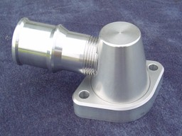 Pontiac Billet Alumium water neck 360 degree swivel